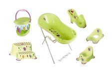 7er Hippo grün Z Set Badewanne XXL+ Sitz +Ständer +Topf + WC +Hocker +Eimer