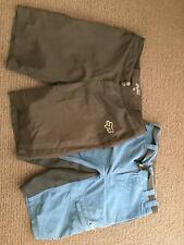 2 x mountain biking shorts sz32