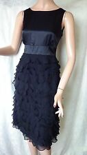 SIZE-10, MONSOON Stunning Little Black Dress 100% Silk.