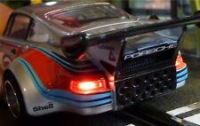 Slotcar LED Beleuchtung WARMWEISS Heck & Front mit STANDLICHT für Carrera  88888