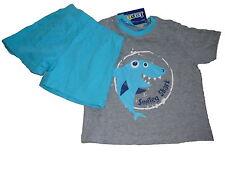 NEU Lupilu toller Shorty Gr. 86 / 92 gau-blau mit Hai Motiv !!