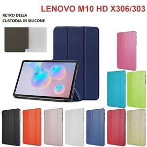 SMART COVER CUSTODIA Integrale SUPPORTO X Lenovo Tab M10 HD TB-X306 303 2nd Gen