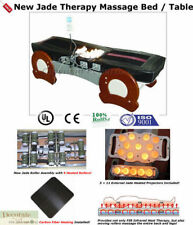 MASSAGE BED TABLE FAR INFRARED HEAT 9 JADE Heated Rollers Therapy 160F 110V New