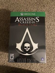 Assassin's Creed IV: Black Flag -- Limited Edition (Microsoft Xbox One, 2013)