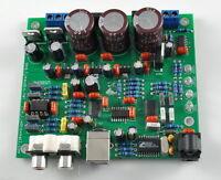 Assembled LJM audio CS4398 DAC Board With USB Optical Fiber 24/192k