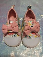 Child Of Mine By Carter's Girls 0-3 Months Floral Shoes
