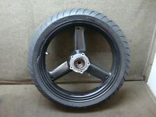 03 2003 TRIUMPH 600cc SPEED FOUR WHEEL, FRONT RIM & TIRE #ZL46