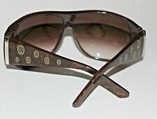 CARTIER Sonnenbrille Mod. HAPPY BIRTHDAY,  braun / goldmetallic Effekt