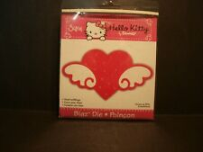 Sizzix Hello Kitty Big Die Cuts Heart with Wings Retired, RARE! 655794 NEW