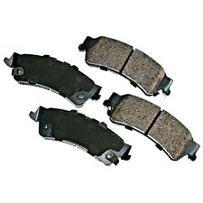 REAR BRAKE PADS GMC SEMI METALLIC SAFARI SIERRA 1500 3500 YUKON XL 1500
