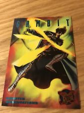 X Men Fleer Ultra (1995) Sinister Observation (4 Of 10 Gambit)