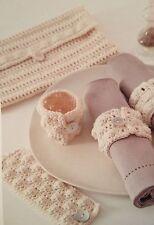 Portatovaglioli ad Anello Crochet Pattern & Borsa