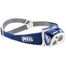 Petzl Reactik - Lampada da Testa compatta Ricaricabile e Intelligente con