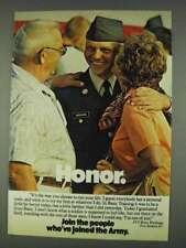 1978 U.S. Army Ad - Honor