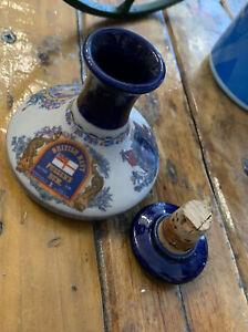 British Navy Pusser's Rum Decanter Ceramic Multicoloured Collectables