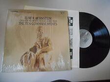 LP OST Elmer Bernstein - The Ten Commandments (10 Song) UNITED ARTISTS