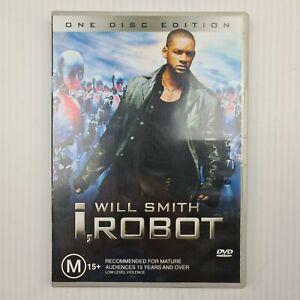 I, Robot DVD - Will Smith - Region 4 PAL - TRACKED POSTAGE