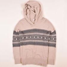 GAP Herren Pullover Sweater Strick Gr.XL Kapuze Beige, 54397