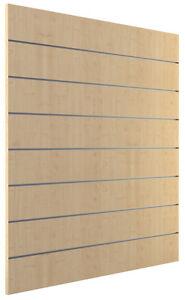 Ladeneinrichtung Lamellenwand Deko Wand Accessoire Aufhänger 1200 x 1200 mm Ahor