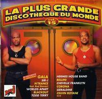 Compilation CD La Plus Grande Discothèque Du Monde Vol.15 - France (M/EX+)