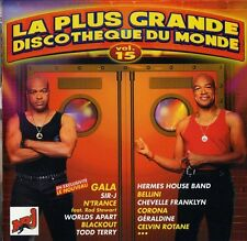 Compilation CD La Plus Grande Discothèque Du Monde Vol.15 - France (M/EX+)