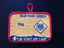 Cub Scout Day Camp 1994 Blue Ridge Council Boy Scout Patch