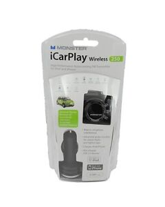 Monster Cable iCarPlay 250 Wireless FM Transmitter and Charger for iPod iPhone