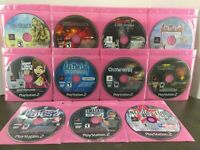 PS2 Sony Playstation 2 Game Disc Lot of 11 Games Snow Blind Cold Winter RE FF