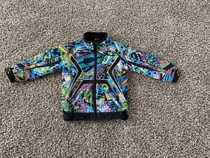 Castle X Racewear Girls Switch Insulated Snowmobile Jacket S Colorful Lined Snow