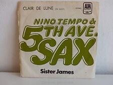 NINO TEMPO & 5TH AVE SAX Clair de lune Sister James 8E00694862 Pressage Portugal