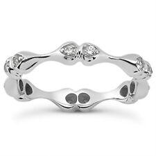0.36 ct Ladies Round Cut Diamond Eternity Wedding Band Ring In Platinum