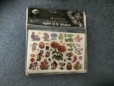 plants and Zombies Tattoo PARTY SUPPLIES  LOLLY LOOT BAG filler KIDS TATTOOS
