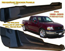 Ford Truck F150 Extended CAB Rocker Panel set by:NeverRust fits 4door 99 - 03