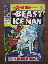 """""""X-MEN"""" NO.47, AUG. 1968 VERY FINE CONDITION, ORIGINAL OWNER!! AWESOME BOOK!"""