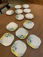 Regal - Art Deco - Floral  - Plates