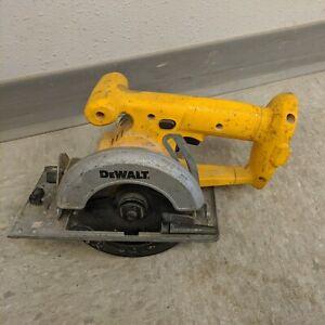 "Dewalt 18V DW936 18V 5 3/8"" Cordless Circular Trim Saw Bare Tool Needs Work"