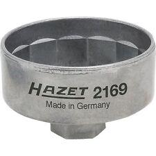 """Hazet Ölfilterschlüssel 2169, 3/8"""" und Sechskant 27mm, Steckschlüssel- Einsatz"""