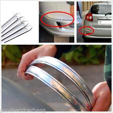 Car SUV Body Bumper Scratches SILVER Anti-rub Exterior Protector Cover Crash Bar