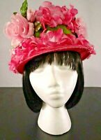 Vtg Women's Church Hat / Assorted Designs, Styles & Colors / Size 6 1/2 - 6 3/4