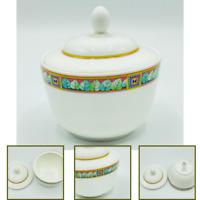 "Hutschenreuther Leonard Catena Sugar Bowl With Lid Bone China Storage 4"""
