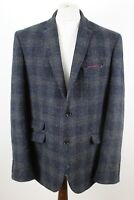 NEXT Signature Harris Tweed Wool Blazer size 48L122cm