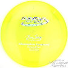 New Neon Yellow Champion Leopard Fairway Driver 175g Innova Disc Golf Sparkle St