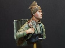 "Resicast 1/9 ""The Return from Dieppe"" British Commando 1942 Bust 90001"