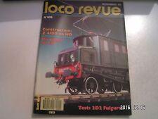 **j Loco Revue n°509 2D2 5525 Fulgurex en O / Z 4100 en HO / Les JAO