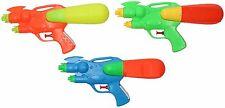 3 Pack Kids Small Water Pistols Childrens Water Gun Shooter blaster Soaker