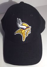 Minnesota Vikings Reebok NFL Team Apparel Hat Black Adjustable Size New W/O Tags
