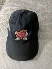 Maryland Terps Authentic head gear black cap with Maryland logo for man or women