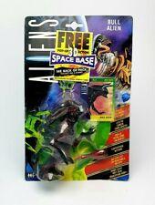 Vintage ☆ Aliens Bull Alien Action Figure ☆ Sealed Carded Kenner 90s face hugger