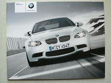 Prospekt BMW M3 - Das neue BMW M3 Coupe (E 92), 2.2007, 28 Seiten
