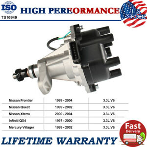 New Ignition Distributor  for Nissan Frontier Quest Xterra 2000-2004 3.3L V6